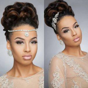 43 Black Wedding Hairstyles For Black Women
