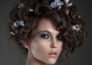 cute curly hairstyles women