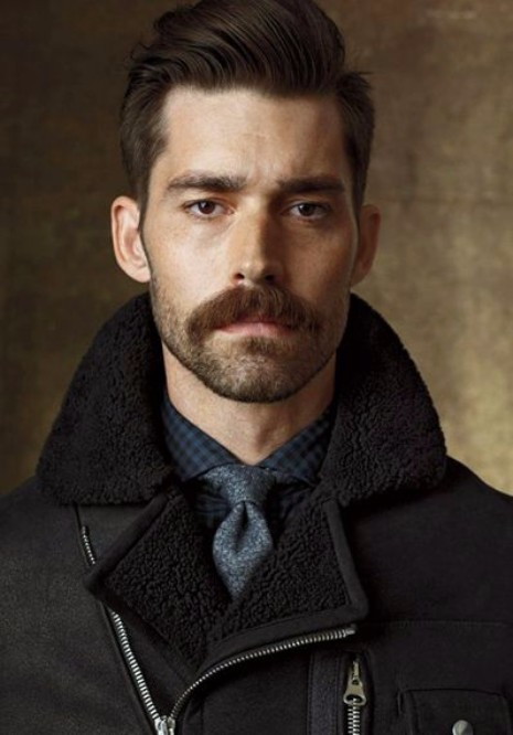 28 Of The Best Mustache Styles On Pinterest Hairstyles