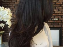 55 Lovely Long Hair Ladies with Layers