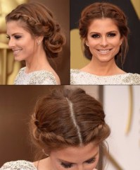 milkmaid braid updo for prom | Hairstyles & Haircuts for ...