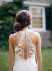 elegant outdoor wedding hairstyles