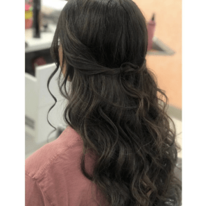 Prom Hairstyles Trending on Instagram   Classic Half Up   Hairstyle on Point