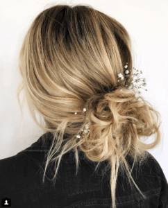 Prom Hairstyles Trending on Instagram   Low Messy Bun   Hairstyle on Point