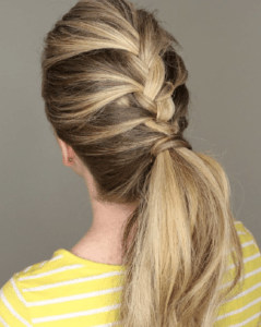 Prom Hairstyles Trending on Instagram   Rockin' French Braid   Hairstyle on Point