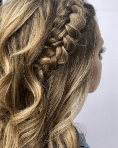 Prom Hairstyles Trending on Instagram   Thick Dutch Braid   Hairstyle on Point