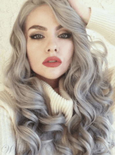 18 Of the Best Wigs for Women | Gray Synthetic Hair Wig | Hairstyle on Point