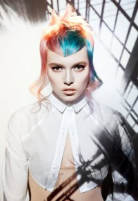 Punk Girl Hair Colors 2013