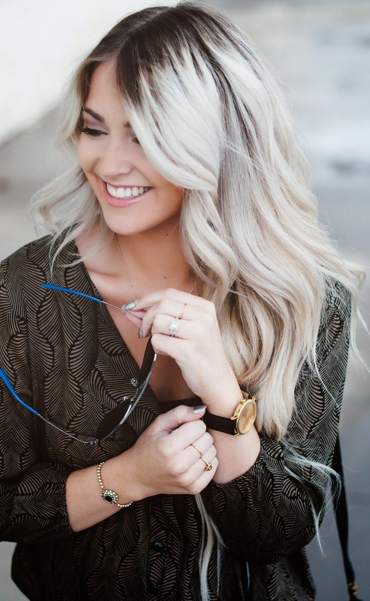 Hair Color Ideas with Dark Roots for 2016 | 2019 Haircuts ...