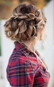 pretty curly updo hairstyles