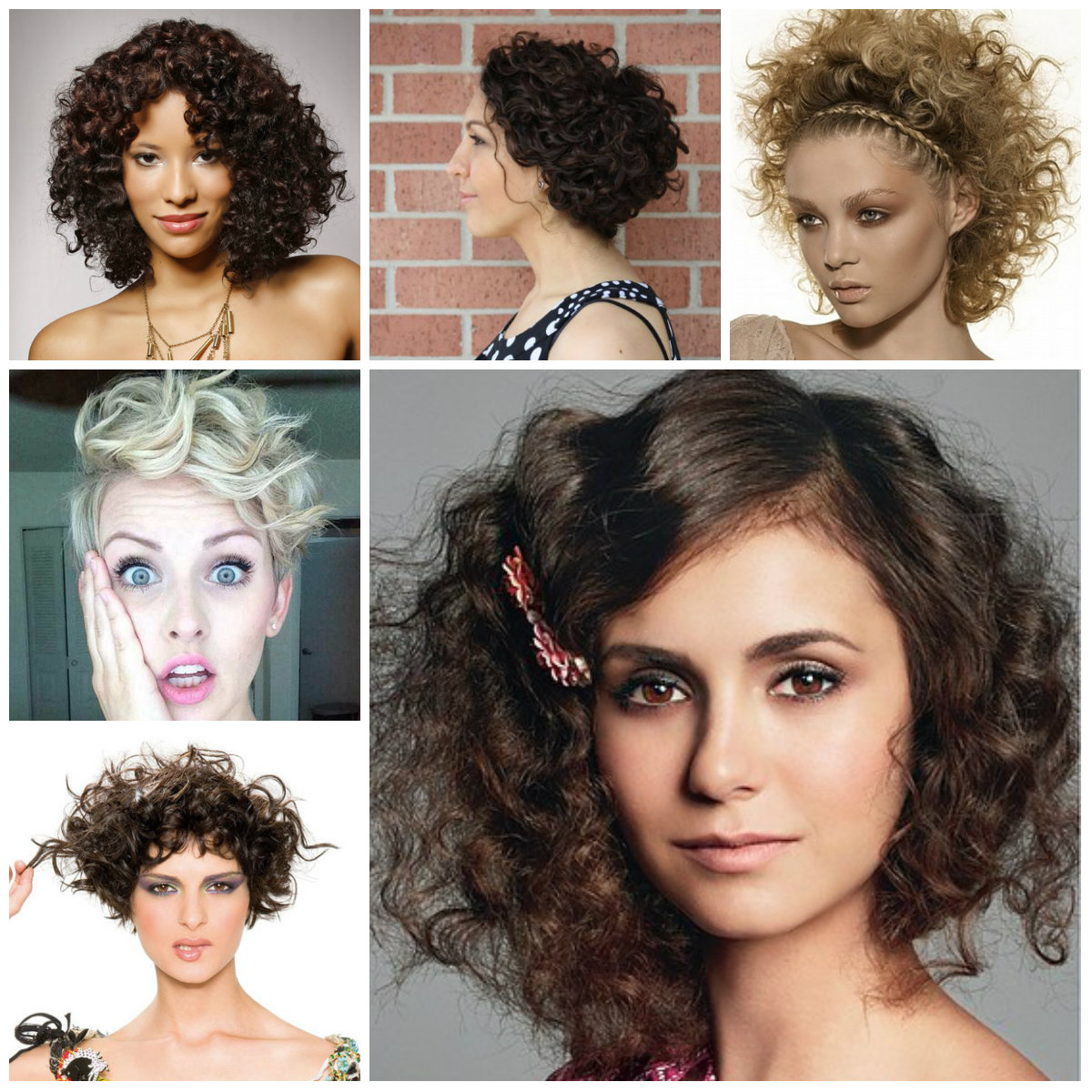 2016 Trendy Hairstyles For Naturally Curly Hair 2019 Haircuts