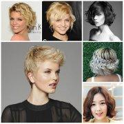 2016 popular short wavy hairstyles