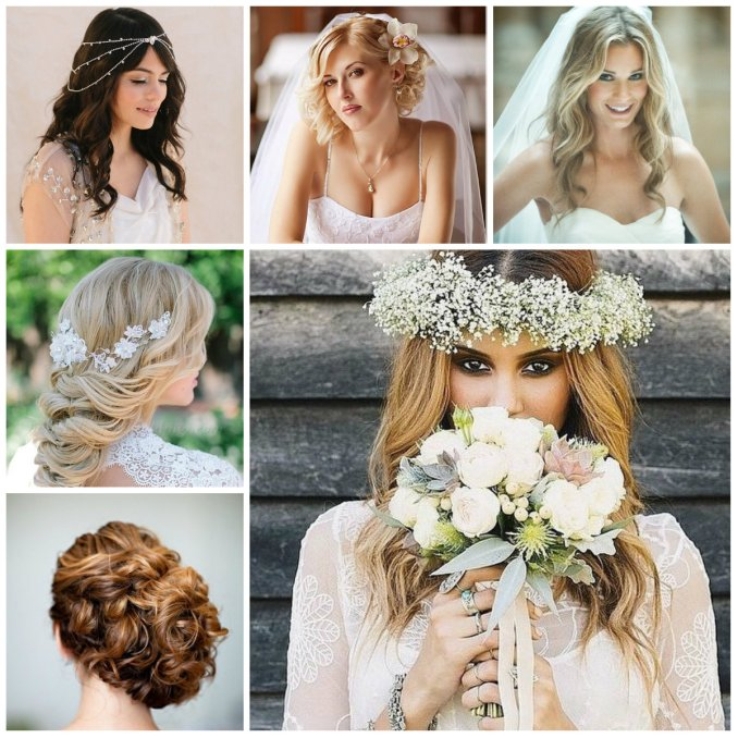 elegant wedding hairstyle ideas for 2016 | 2019 haircuts