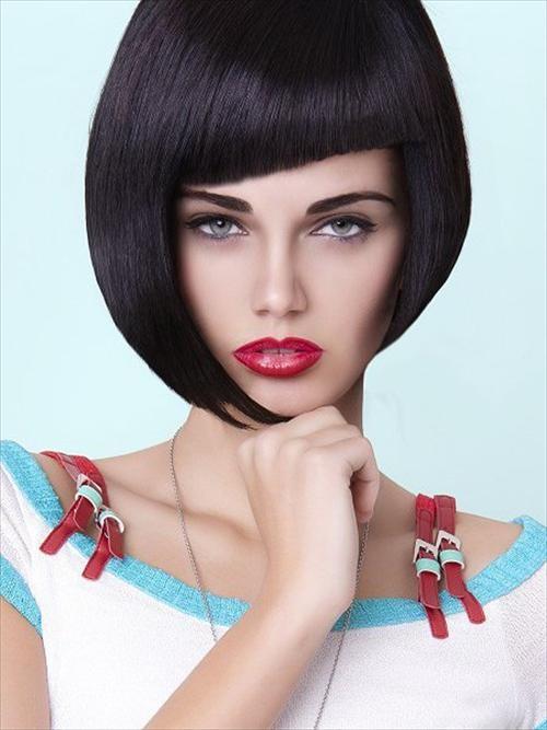 Asymmetric Bangs Hairstyles For 2016 2019 Haircuts