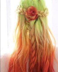 Bright Hair Color Ideas For 20122013 Of Bright Color Hair