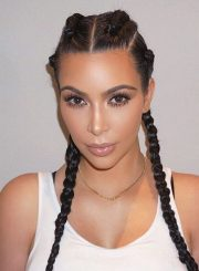 celebrities casual hairstyles