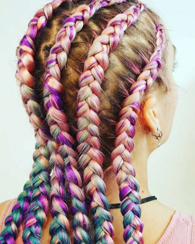 Fabulous Cornrows for 2017  2019 Haircuts Hairstyles and Hair Colors