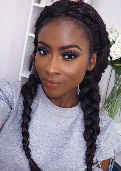 Gorgeous Braided Hairstyle for 2017  2019 Haircuts