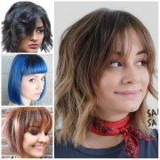 hairstyles with bangs 2017 haircuts