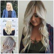 white blonde hair color ideas
