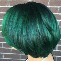 Green Hair Color Ideas for 2017 | 2019 Haircuts ...