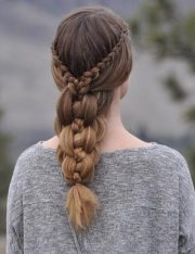 cute lace braids hairstyles