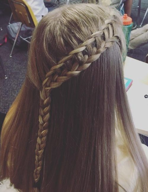 Cute Lace Braids Hairstyles For Girls 2019 Haircuts