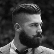 top hairstyles men with beard