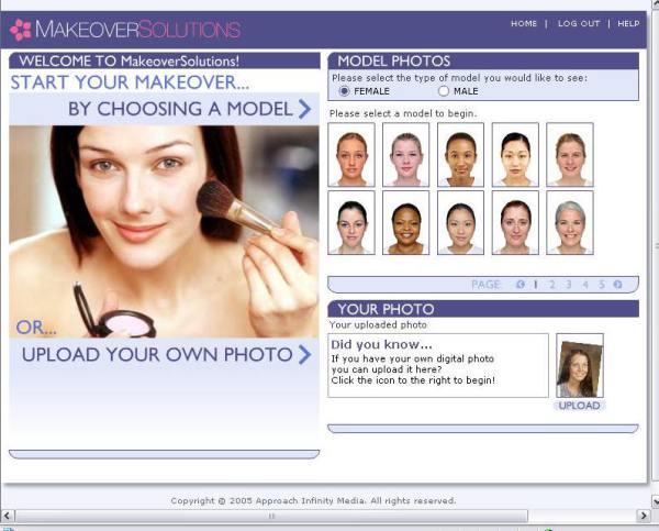 hair makeover online photo upload