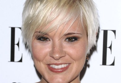 Brea Grant Short Straight Casual Hairstyle Thehairstyler