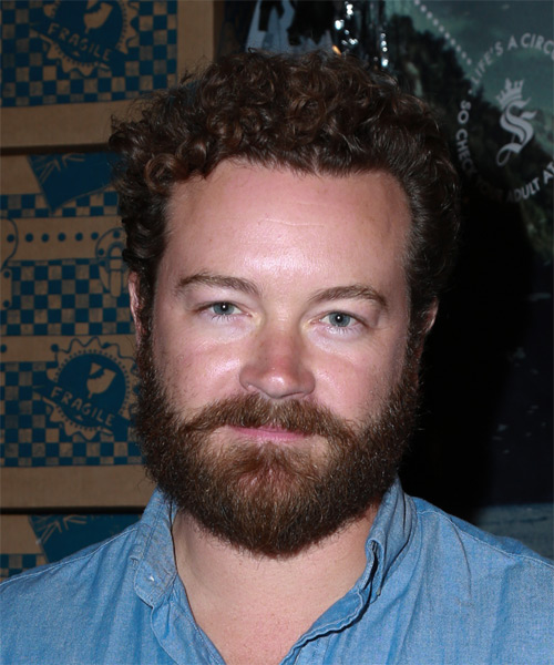 Danny Masterson Short Curly Casual Hairstyle