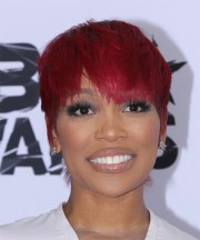 monica brown short straight casual