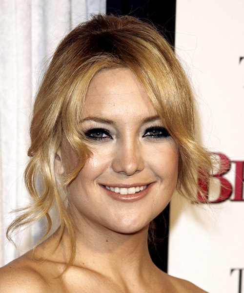Kate Hudson Formal Medium Curly Updo Hairstyle