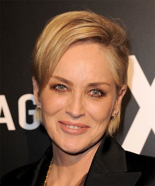 Sharon Stone Hairstyles For 2017 Celebrity Hairstyles By