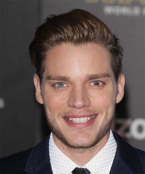 Dominic Sherwood Short Straight Formal Hairstyle