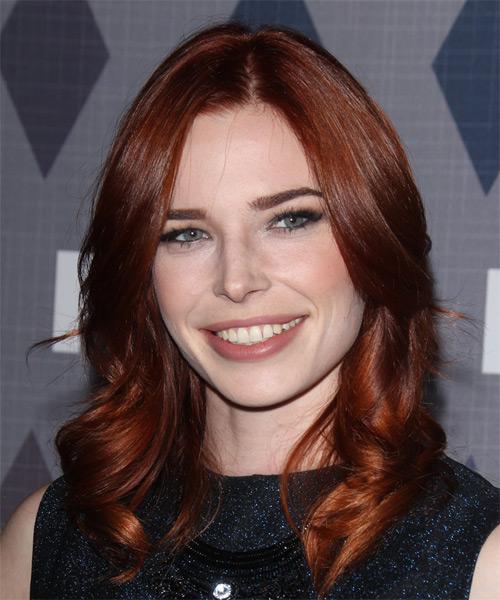 Chloe Dykstra Long Wavy Formal Hairstyle