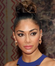 nicole scherzinger long straight