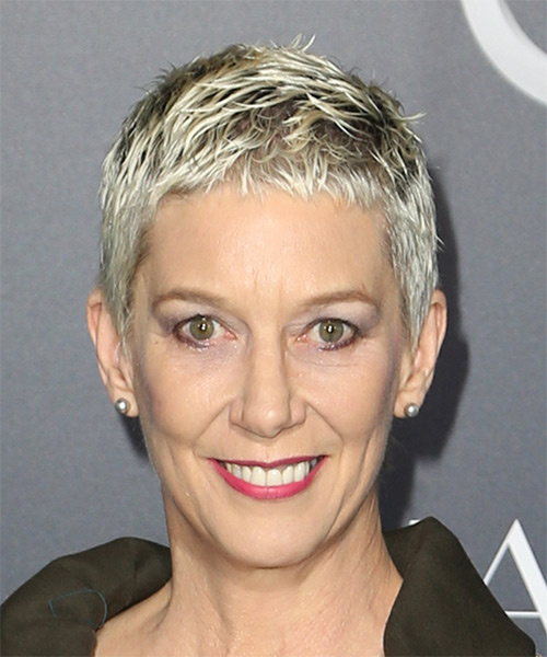 Patricia Ward Kelly Short Straight Casual Pixie Hairstyle