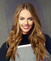 long wavy light brunette hairstyle