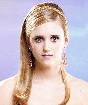 formal hairstyles long straight