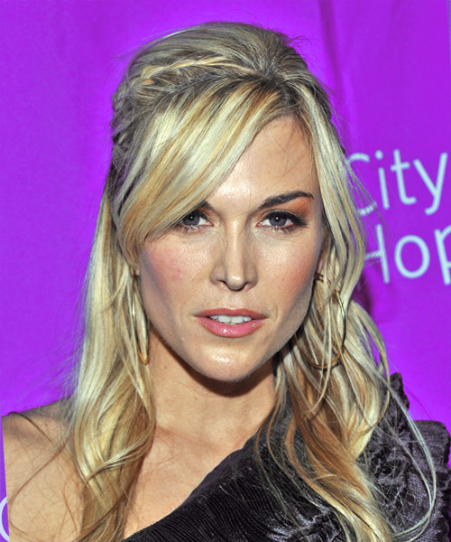 Tinsley Mortimer Long Straight Formal Updo Hairstyle