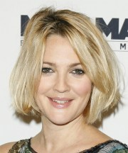 drew barrymore hairstyles in 2018