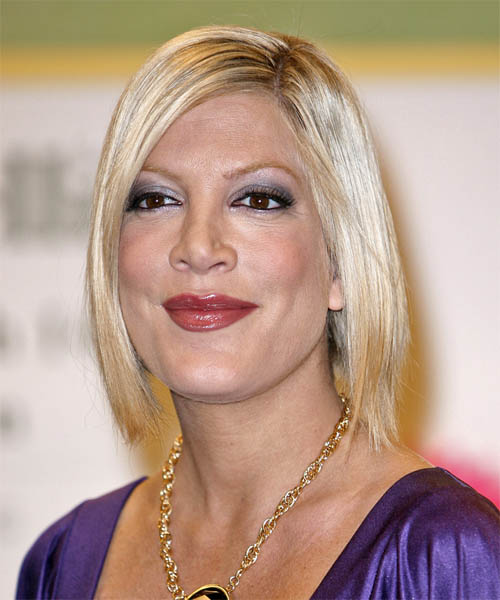 Tori Spelling Hairstyles For 2017 Celebrity Hairstyles By