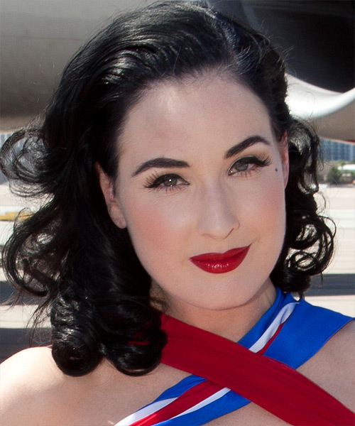 Dita Von Teese Hairstyles Hair Cuts And Colors