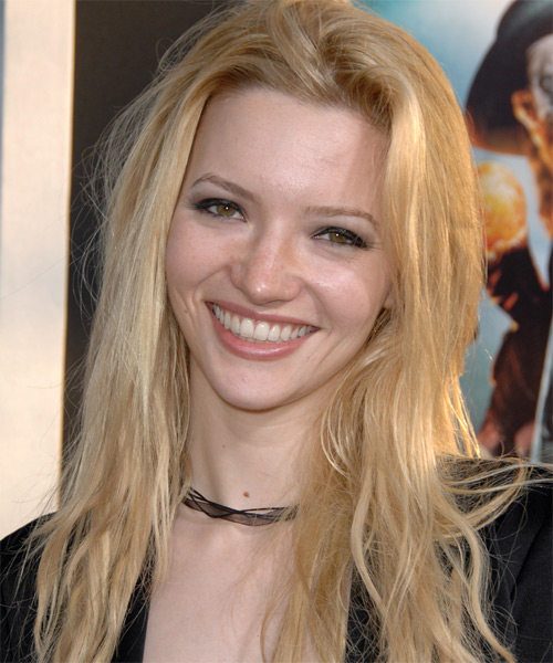 Talulah Riley Casual Long Straight Hairstyle