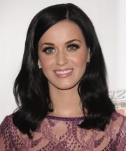 katy perry medium straight black