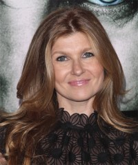 Connie Britton Long Straight Formal Hairstyle - Light ...