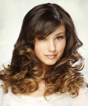 long curly formal hairstyle - medium