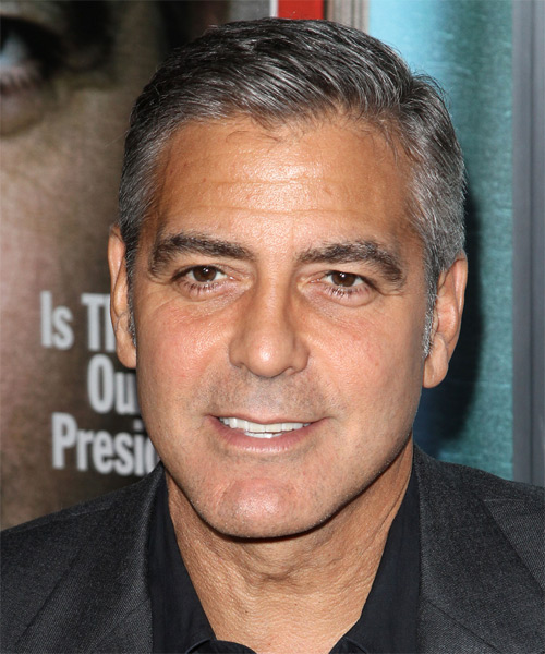 George Clooney Hairstyles For 2017 Celebrity Hairstyles By