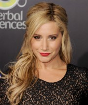 ashley tisdale curly casual